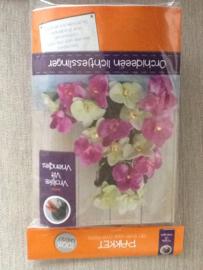 Viltpakket orchideeën slinger