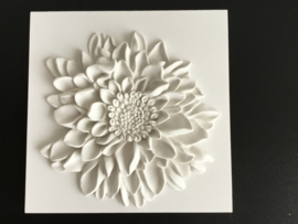 Wanddecoratie chrysant