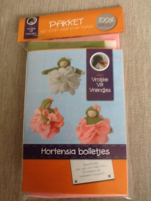 Viltpakketjes hortensia bolletjes