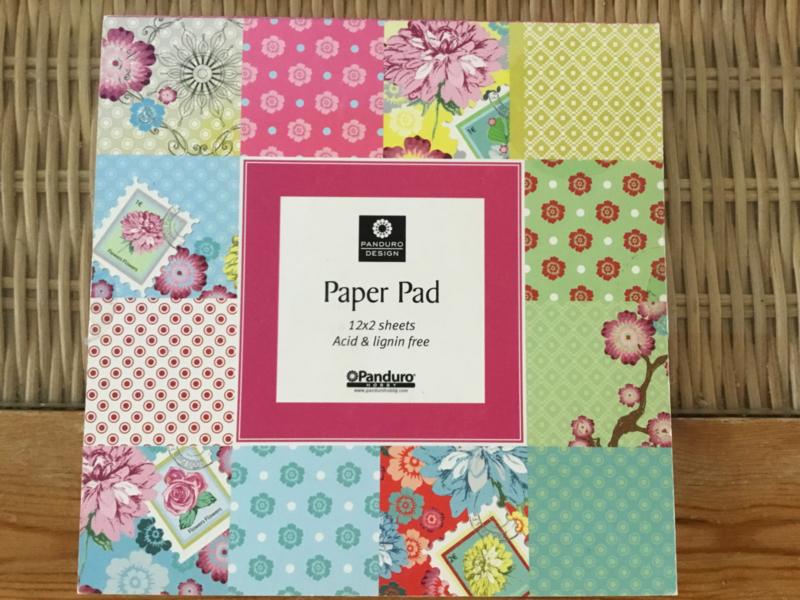 Paper pad van panduro design