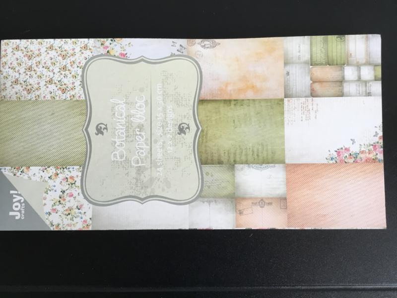 Joy Crafts papierblok botanical