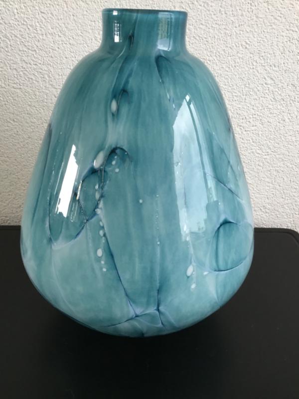 Vaas pear xxl Thunder Bleu