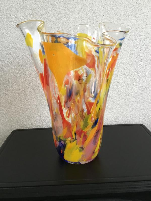 Wave art colours