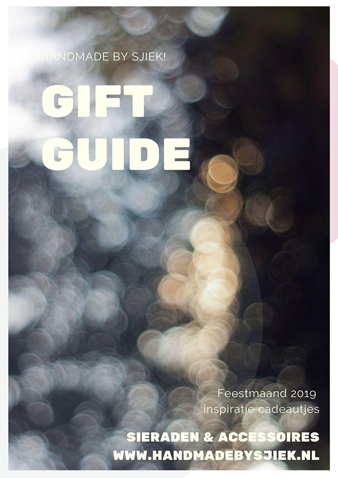 Gift Guide Feestdagen Handmade by Sjiek