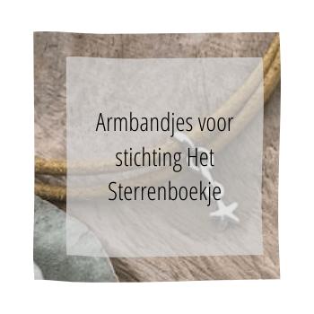 armbandjes voor het sterrenboekje, handmade by sjiek