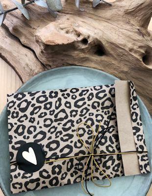 inpakken leopard handmade by sjiek