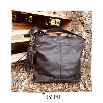 leren en kunstleren tassen van de merken zazaz en bag2bag vind je bij handmade by sjiek