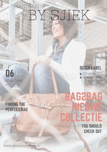 nieuwe collectie bag2bag verkrijgbaar bij handmade by sjiek