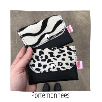 portemonnees, mini portemonnees, handmade by sjiek