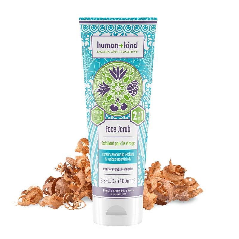 Human+Kind Vegan Face Scrub