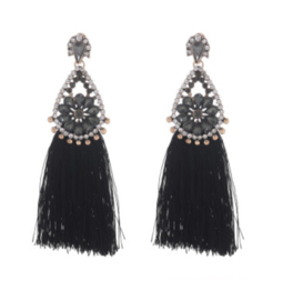 GLAM TASSEL EARRINGS