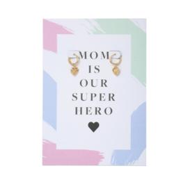 MOM IS OUR SUPER HERO || Moederdag aanrader