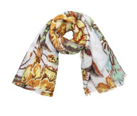 FLOWER POWER SCARF ||