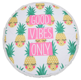 XL BEACH TOWEL || GOOD VIBES ONLY