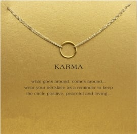 Karma necklace
