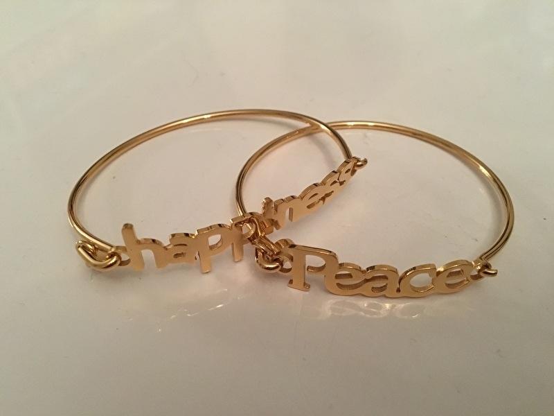 Happiness & Peace armband