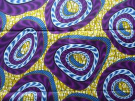 Purple whirlwind,  Afrikaanse stof
