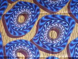 Blue wirlwind, Afrikaanse stof