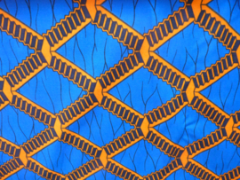 Orange pattern, Afrikaanse stof