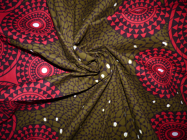 Red balls, Afrikaanse stof