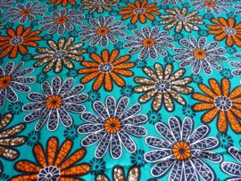 Flowers, Afrikaanse stof