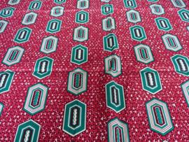 Green hexagon, Afrikaanse stof