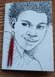 Afrikaanse oorbel, Bead