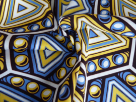 Retro yellow, Afrikaanse stof