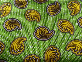 Yellow shells, Afrikaanse stof