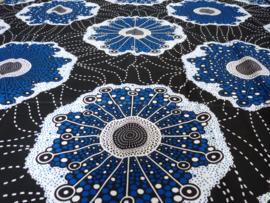 Blue fantasie, Afrikaanse stof