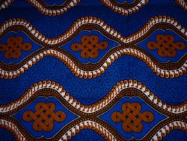 Orange waves, Afrikaanse stof
