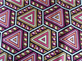 Retro pink, Afrikaanse stof