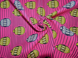 Cupcakes pink, Afrikaanse stof