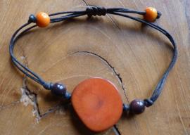 Armband, Tajira orange