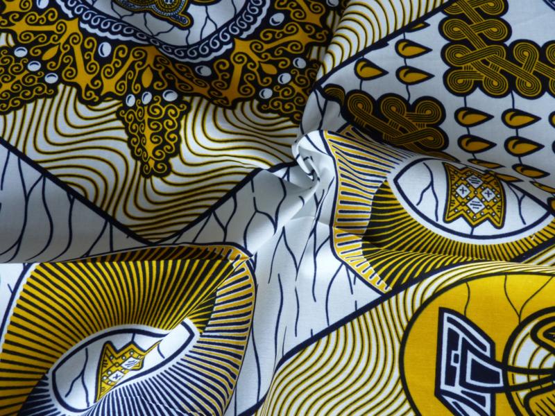 Yellow, Afrikaanse stof