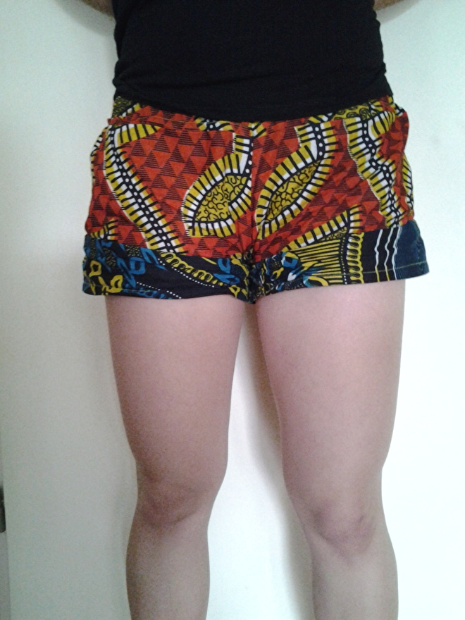 Festivalbroekje / korte broek dames