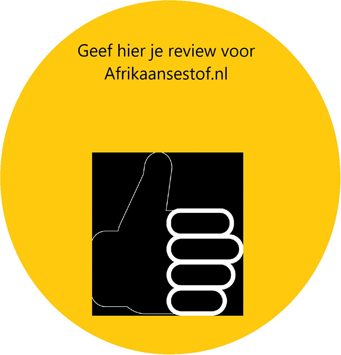 Reviews Afrikaansestof.nl