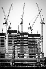 De Rotterdam in aanbouw