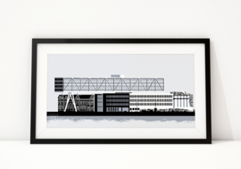 Nieuwe art print: Unilever Rotterdam