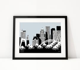 Skyline Rotterdam: Blaak