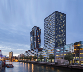 Toekomst skyline Rotterdam