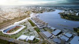 Plannen nieuwe Kuip & Feyenoord City