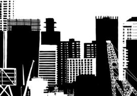 Skyline van Rotterdam
