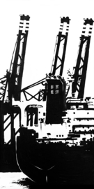 Havenkranen & Vrachtschip