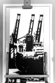 Onthulling: Schilderij Maasvlakte 2