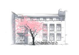 Nieuwe tekening: Studentenhuis Sionstraat