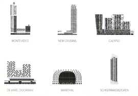 Hoogbouw Rotterdam: Woontorens