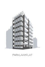 Nieuwe tekening: Parklaanflat