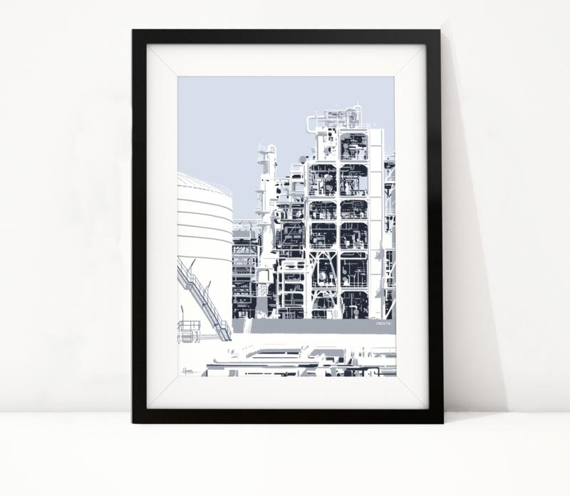 Industrie Rotterdam: Neste raffinaderij