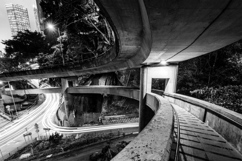 Hong Kong Footbridge